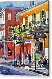 Royal And St Peter Nola Acrylic Print by Spencer Meagher