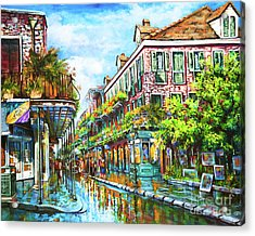 Royal At Pere Antoine Alley, New Orleans French Quarter Acrylic Print
