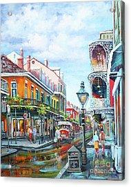 Royal Balconies Acrylic Print