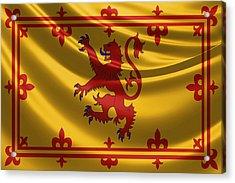 Royal Banner Of The Royal Arms Of Scotland Acrylic Print