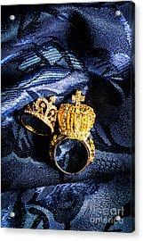 Royal Blue Couple Acrylic Print by Jorgo Photography - Wall Art Gallery