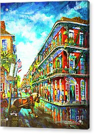 Royal Carriage - New Orleans French Quarter Acrylic Print
