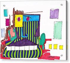 Royal Chops Acrylic Print by Teddy Campagna