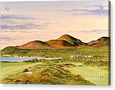 Royal County Down Golf Course Acrylic Print