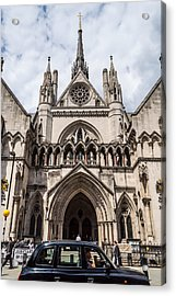 Royal Courts Of Justice In London Acrylic Print