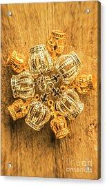 Royal Family Jewelry Acrylic Print by Jorgo Photography - Wall Art Gallery