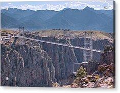 Royal Gorge Bridge Colorado Acrylic Print by James BO Insogna