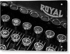 Royal Keys Acrylic Print