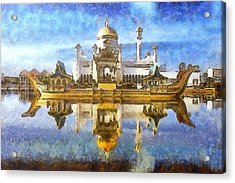 Royal Mosque  Acrylic Print