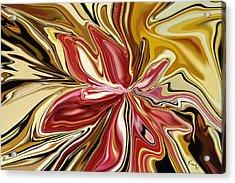 Royal Orchid Acrylic Print