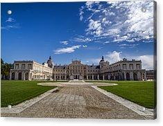 Royal Palace Of Aranjuez Acrylic Print