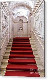 Royal Palace Staircase Acrylic Print by Jose Elias - Sofia Pereira