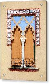 Royal Window Acrylic Print by David Letts
