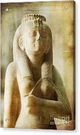 Royal Women In Ancient Egypt. Acrylic Print by Mohamed Elkhamisy