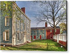 Royall House And Slave Quarters Acrylic Print