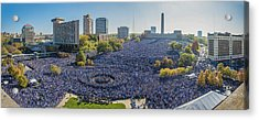 Royals World Series Rally Crowd Acrylic Print