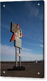Acrylic Print featuring the photograph Roys In Amboy by Matthew Bamberg