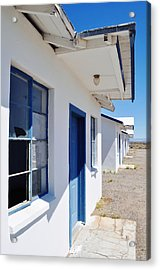 Roy's Motel And Cafe Auto Court Acrylic Print by Kyle Hanson