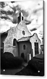 Rt 4 Church Acrylic Print