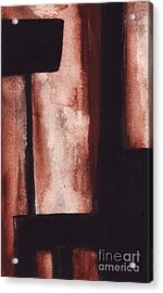 Rt 80 Abstract1 Acrylic Print by Ron Erickson
