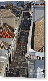 Rua Do Crime In Faro Acrylic Print