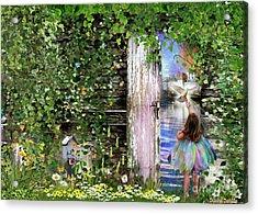 Ruach Ha-kodesh Acrylic Print by Dolores Develde