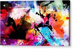 Ruan Away Acrylic Print by Isabel Salvador