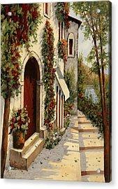 Rubino Acrylic Print by Guido Borelli