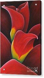 Ruby Calyx Acrylic Print