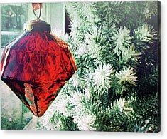 Ruby Red Acrylic Print by JAMART Photography