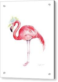 Ruby Rose Acrylic Print