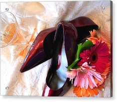 Ruby Slippers Acrylic Print