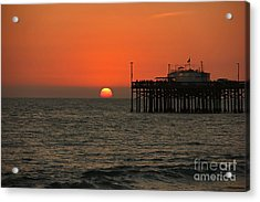 Ruby's Sunset Acrylic Print