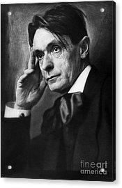 Rudolf Steiner (1861-1925) Acrylic Print by Granger