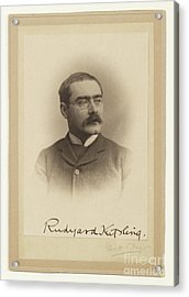 Rudyard Kipling  Acrylic Print