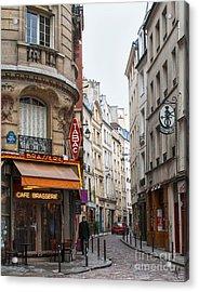 Rue Dante Paris Acrylic Print