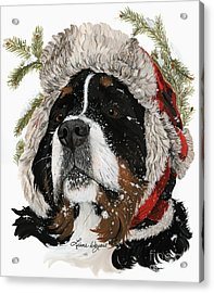 Ruff Winter Acrylic Print