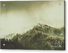 Rugged Atmosphere Acrylic Print