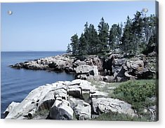 Rugged Maine Coastline Acrylic Print