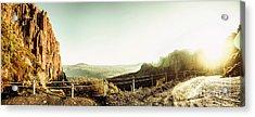 Rugged Mountain Trail Acrylic Print