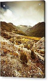 Rugged Valley Wilderness Acrylic Print