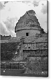 Ruins At Chichen Itza 3 Acrylic Print