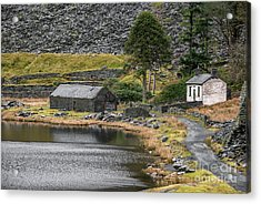Acrylic Print featuring the photograph Ruins At Cwmorthin by Adrian Evans