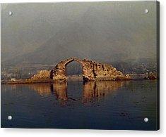 Ruins Acrylic Print by Gila Rayberg