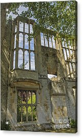 Ruins Of A Grand House  Acrylic Print by Patricia Hofmeester
