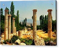 Ruins Of  Aphrodisias Acrylic Print
