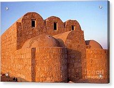 Ruins Of Qasr Amra In Jordan Acrylic Print by Sami Sarkis