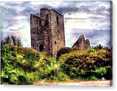 Ruins Of The Old Tin Mine Acrylic Print