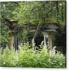 Ruins Of Treadwell Mines Acrylic Print