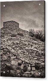 Ruins Of Tuzigoot Acrylic Print by Joseph Smith